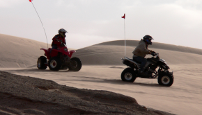 quad biking review